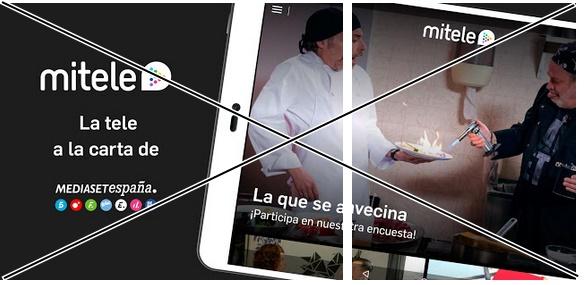 How to delete Mitele - Mediaset Spain VOD TV