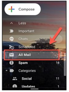 All mail