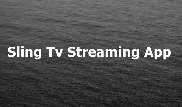 Sling TV Login