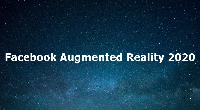 $7,000 Facebook Augmented Reality (AR) Hackathon 2020