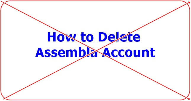 How to Delete Assembla Account
