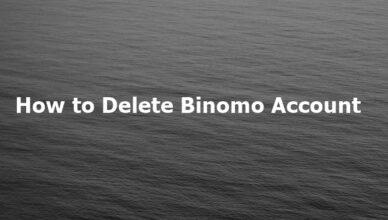 How to Delete Binomo Account