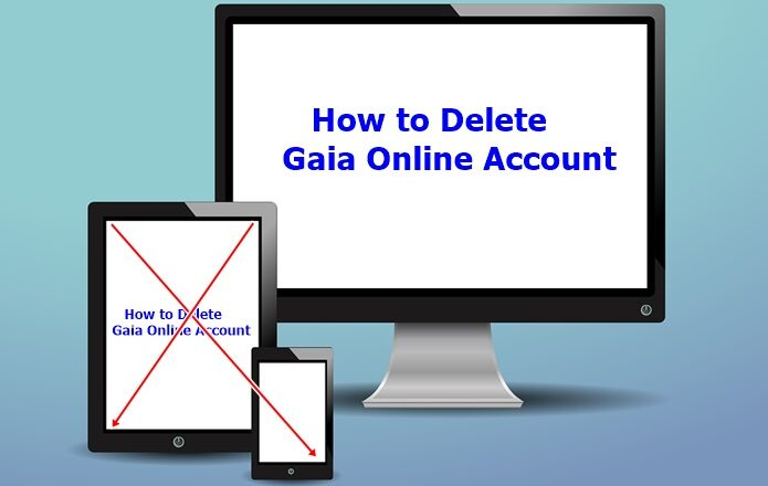 How to Delete Gaia Online Account