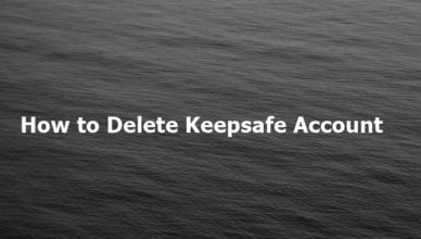 How to Delete Keepsafe Account