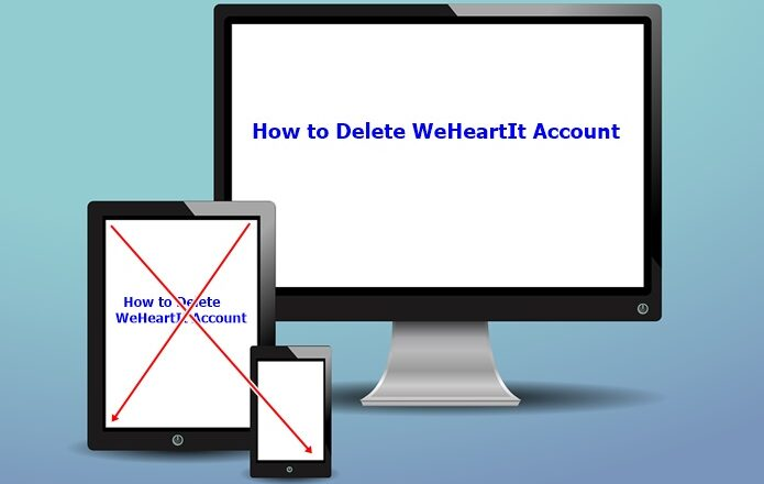 How to Delete WeHeartIt Account