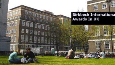 Birkbeck International Awards In The UK 2020