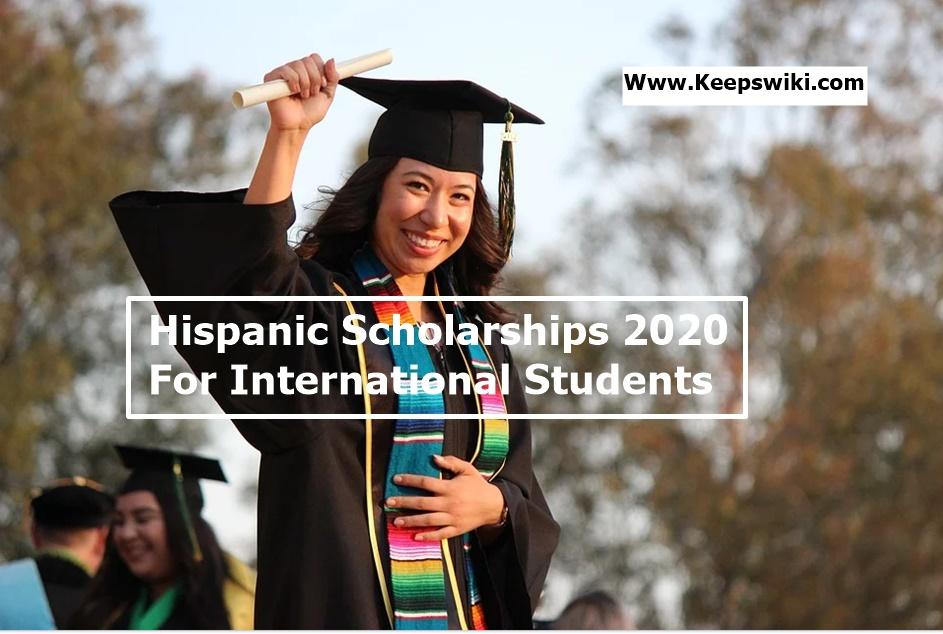 Hispanic Scholarships 2020 for International Students