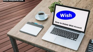 How To Delete Wish Account