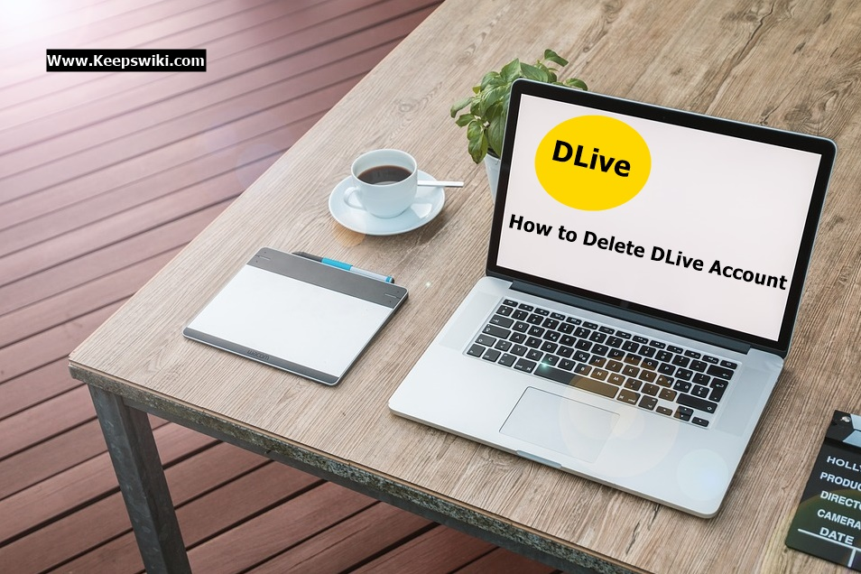 How to Delete DLive Account