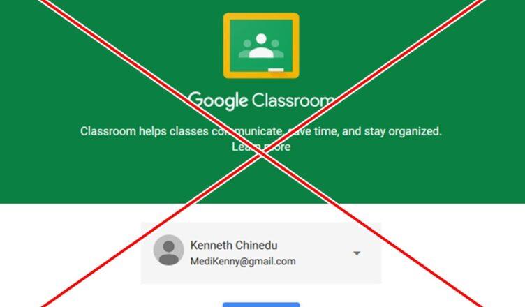 How to Delete Google Classroom Account
