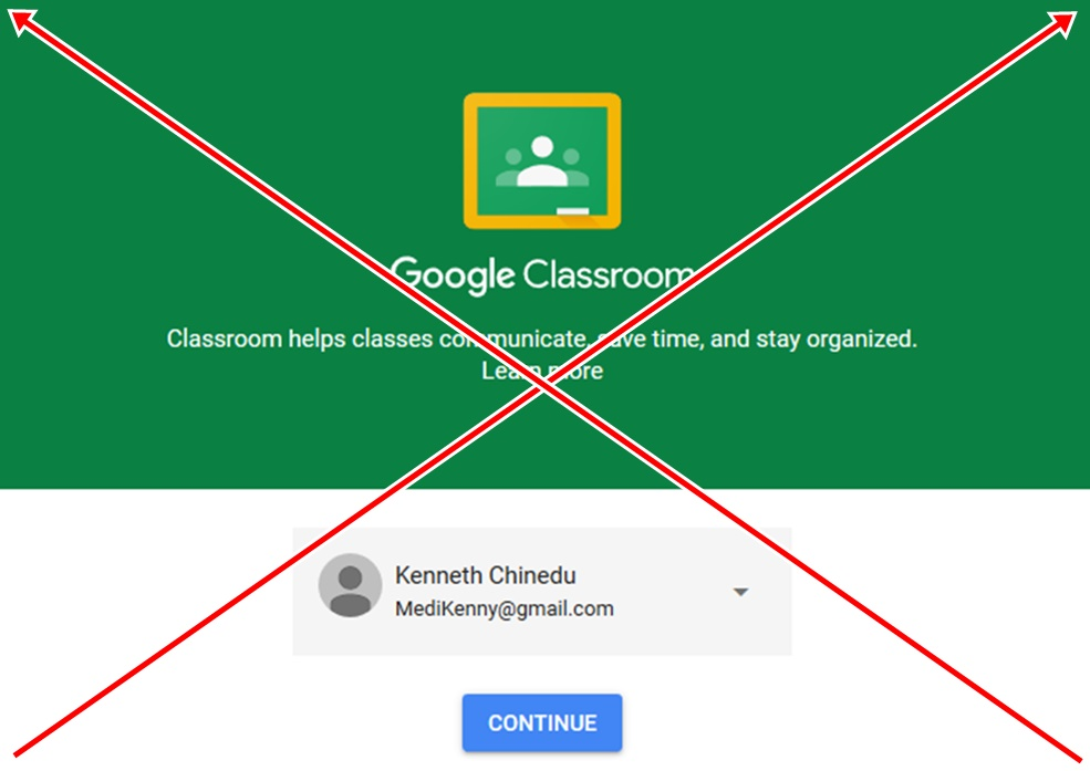 How to Delete Google Classroom Account