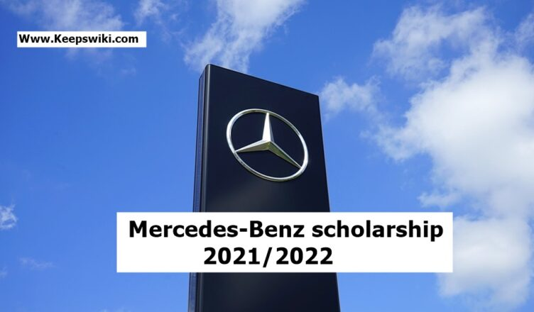 Mercedes scholarship 2021