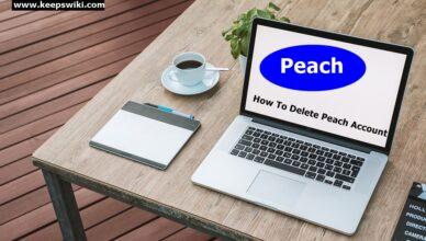 How To Delete Peach Account