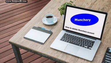 How to delete Munchery account