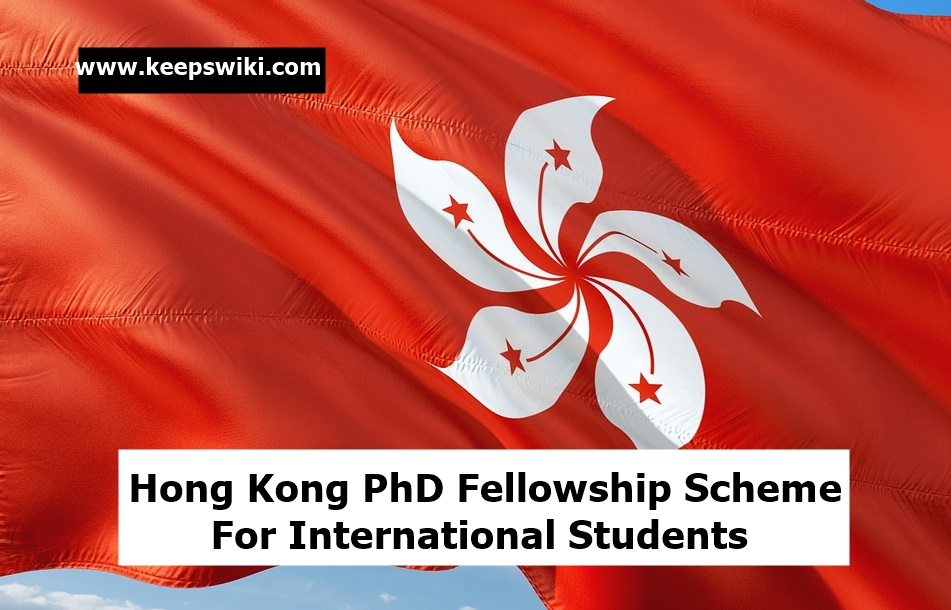 Hong Kong PhD Fellowship Scheme