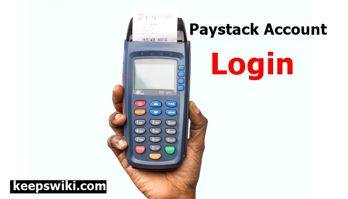 Paystack Login Account