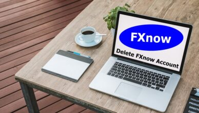 How To Delete FXnow Account