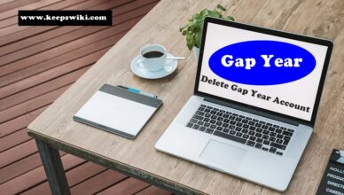 How To Delete Gap Year Account