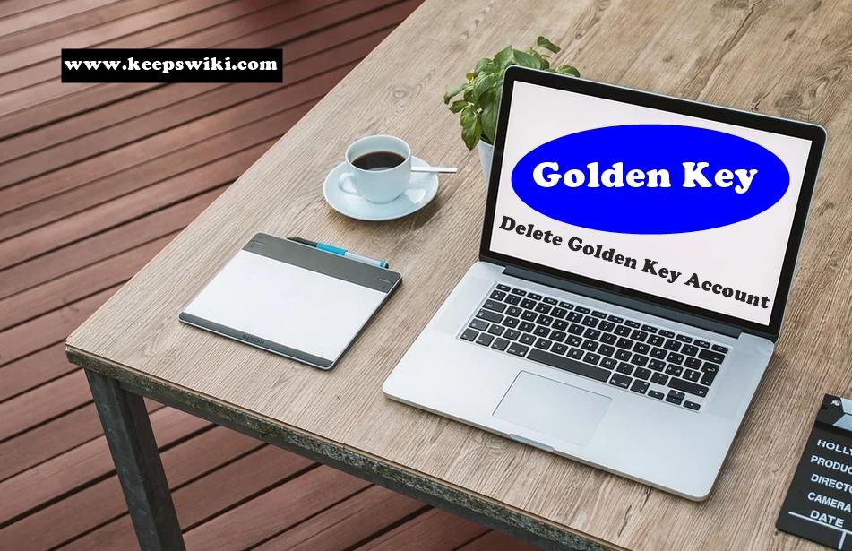 How To Delete Golden Key Account