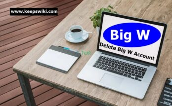 How To Delete Big W Account