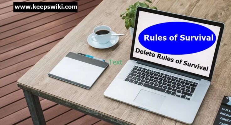 How To Delete Rules of Survival Account