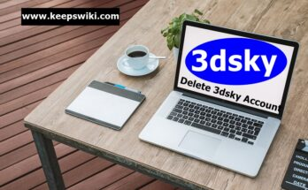 how to delete 3dsky account