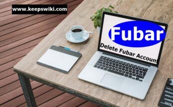 how to delete Fubar account