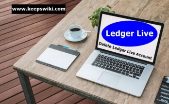 how to delete Ledger Live account