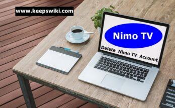 how to delete Nimo TV account