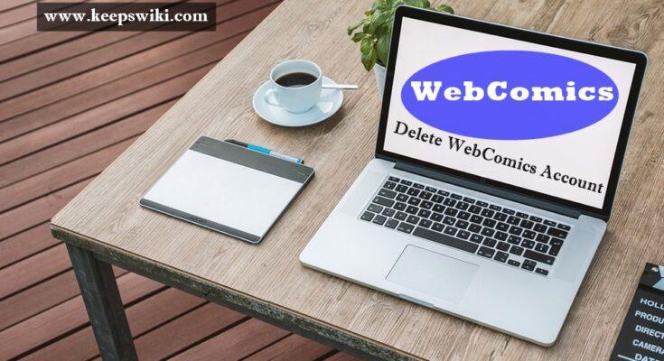 how to delete WebComics Account