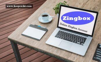 how to delete Zingbox Account