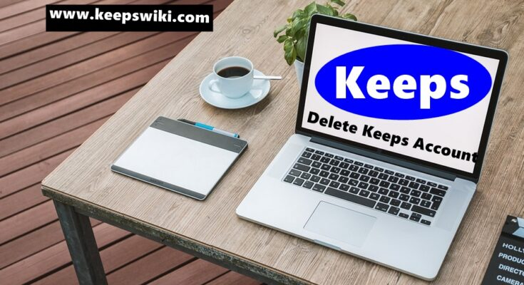 How To Delete Keeps Account