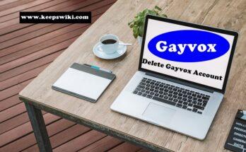 How to delete Gayvox Account