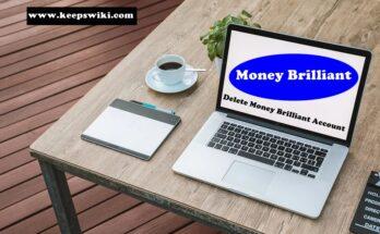 How to delete Money Brilliant Account