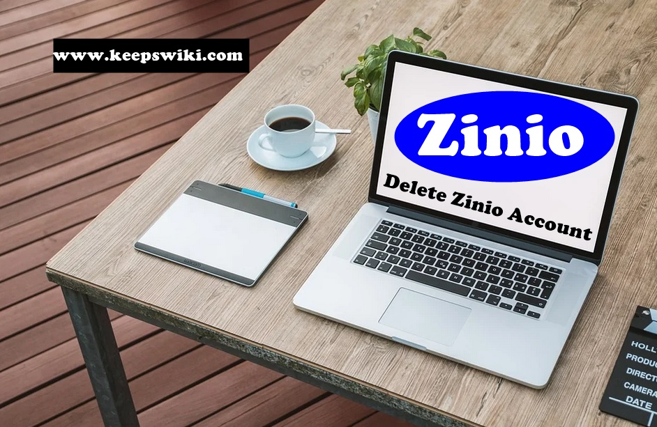 how to delete Zinio account