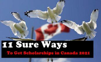 11 Sure Ways to Get Scholarships in Canada