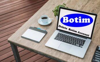 how to delete Botim account