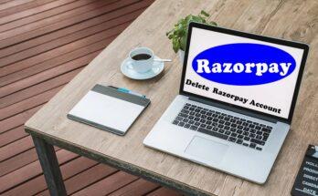 how to delete Razorpay account