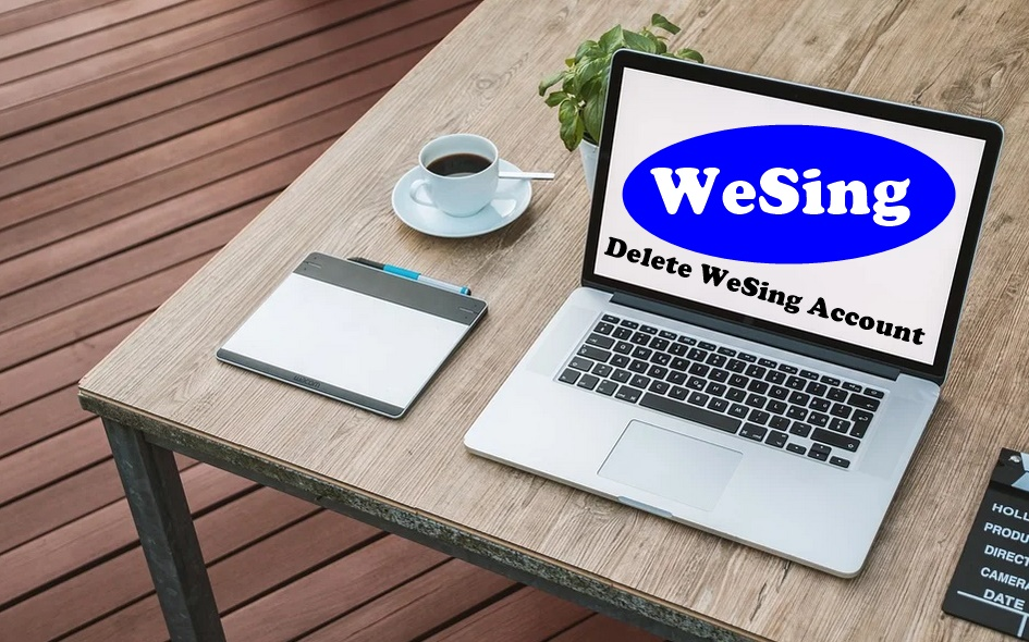 how to delete WeSing acount