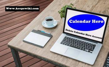How To Delete Calendar Hero Account