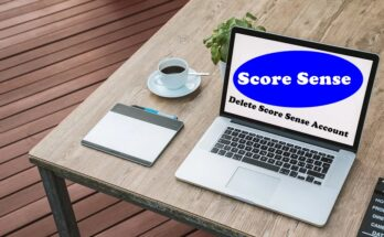 How To Delete Score Sense Account