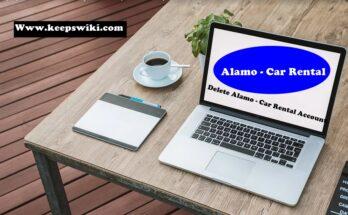 how to delete Alamo - Car Rental Account