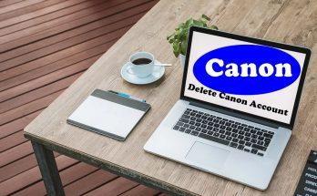 How To Delete Canon Account
