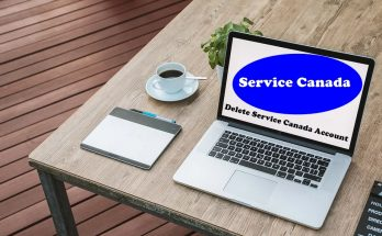 How To Delete Service Canada Account