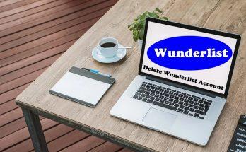 How To Delete Wunderlist Account