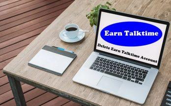How To Delete Earn Talktime Account