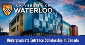 The University of Waterloo Undergraduate Scholarship